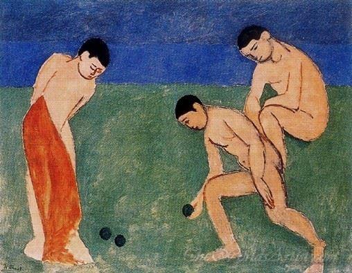 Joueurs De Boules  (Game Of Bowls)