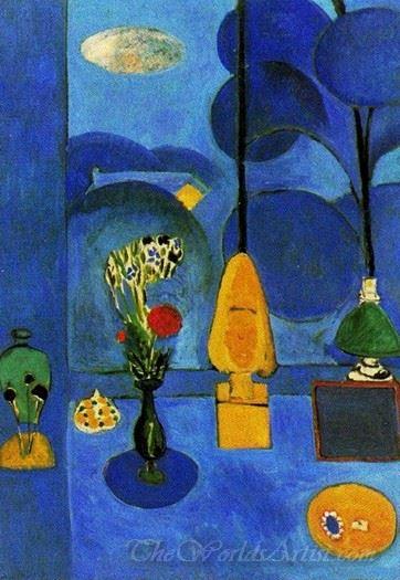 La Glace Sans Tain The Blue Window