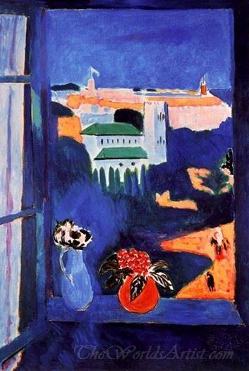Window At Tangier