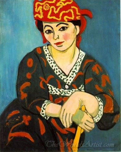 Mme Matisse Le Madras Rouge Red Madras Headress