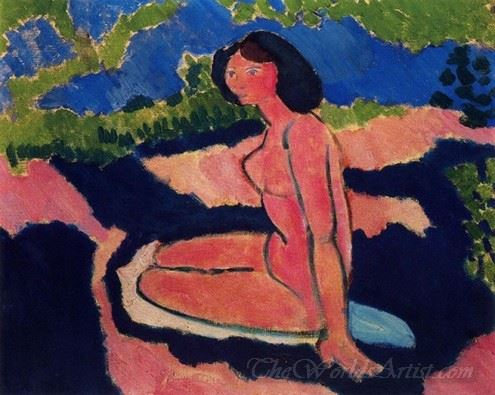 Nu Assis  (Sitting Naked)