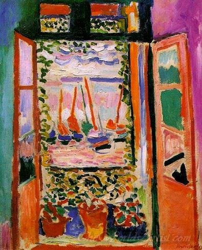 Open Window At Collioure