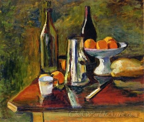 Still Life With Oranges 2