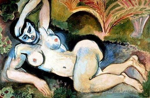 The Blue Nude  (Souvenir Of Biskra)