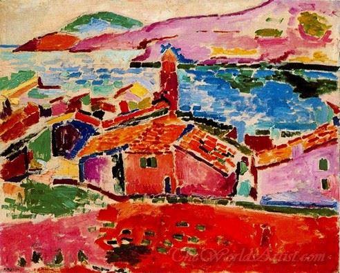 Vista De Collioure  (View Of Collioure)