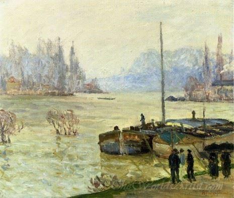 Flood Joinville Le Pont
