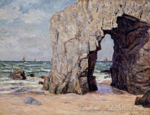 L Arche De Port Blanc Presq L Ile De Quiberon  (The Ark Of Port Blanc Near The Island Of Quiberon)