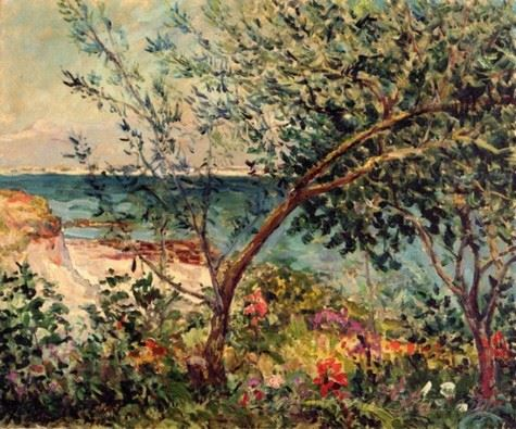 Monsieur Maufras Garden By The Sea