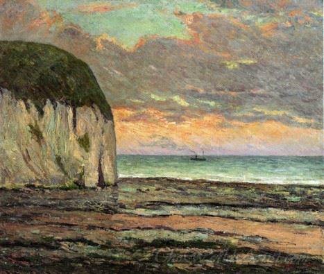 Sunset Yport