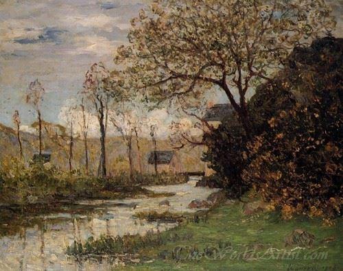 The Auray River Spring