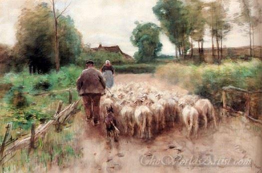 Bringing Home The Flock