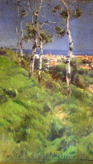 Paisaje Con Arboles  (Landscape With Trees)