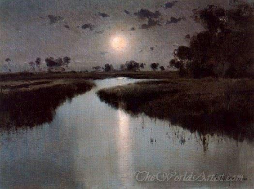 Paisaje Nocturno  (Night Scenery)