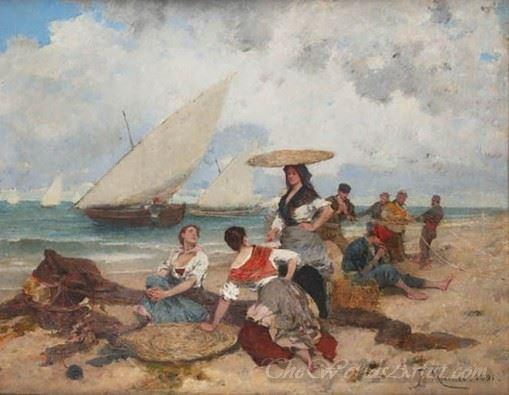 Pescadoras  (Fisherwomen)