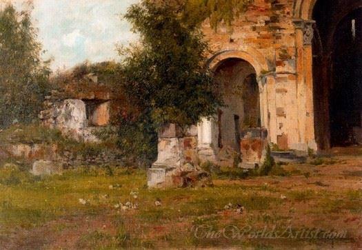 Ruinas De Santa Maria Besalu
