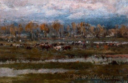 Vacas En Un Prado  (Cows In A Meadow)