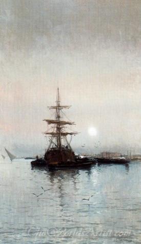 Barco En El Puerto  (Mooring)