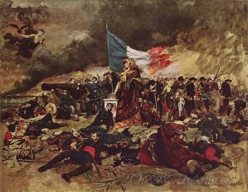 The Siege Of Paris In 1870