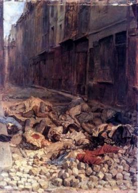 La Barricade De Rue De La Mortellerie