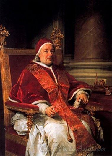 Pope Clemente Xiii Rezzonico