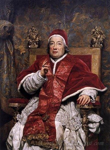 Portrait Of Clement Xiii Rezzonico