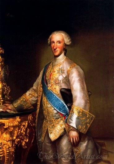 Portrait Of Don Luis Antonio Jaime De Borbon