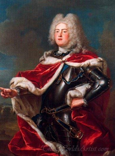 Portrait Of Frederick Augustus Ii