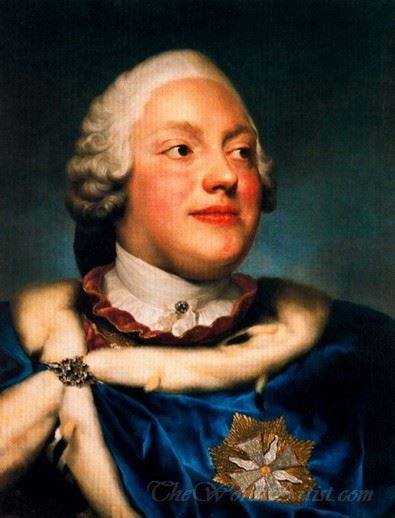 Portrait Of Frederick Christian Prince Elector Of Sasso