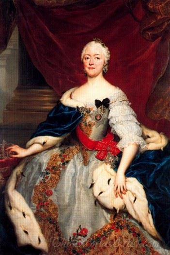 Portrait Of Mary Antoni Walpurgis