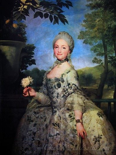 Queen Maria Luisa Of Spain
