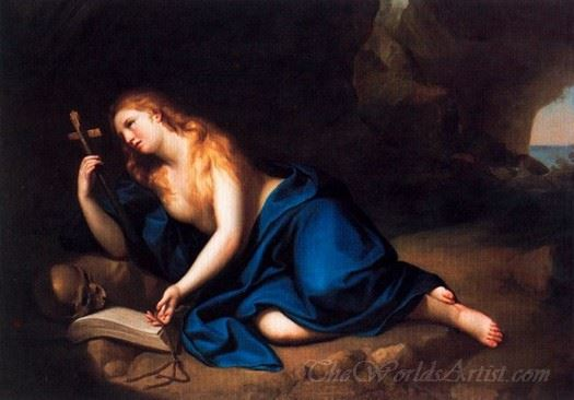 St Mary Magdalene In A Cave