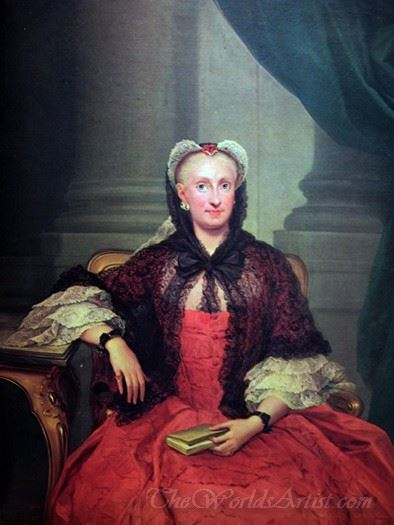 The Queen Mary Amalia Of Saxony