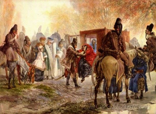 Hussars Bring A Polish Family
