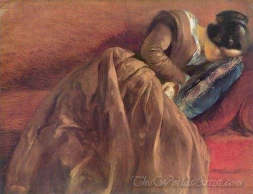 Emilie Menzels Asleep