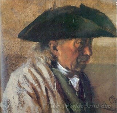 Peasant With A Three Cornered Hat