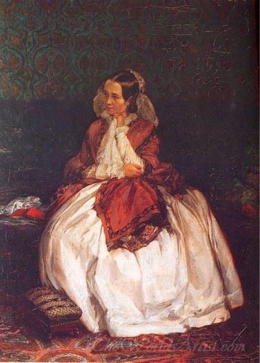 Portrait Of Frau Maercker