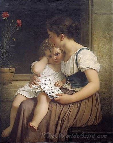 Young Woman And Child
