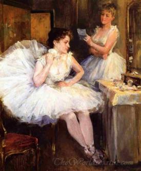 The Ballet Dancers The Dressing Room