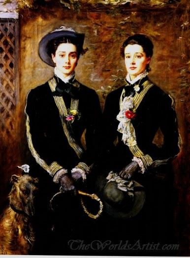 Twins Grace And Kate Hoare