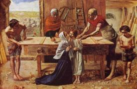 Christ In The House Of His Parents  (The Carpenters Shop)
