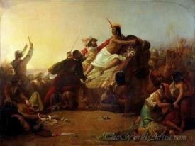 Pizarro Seizing The Inca Of Peru
