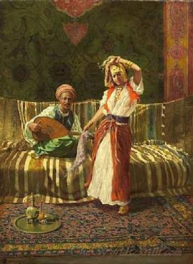 Arab Dancing Girl