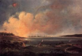 The Battle Of Fort Mchenry