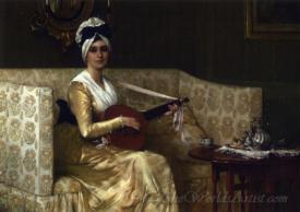 Portrait Of Mrs Millet