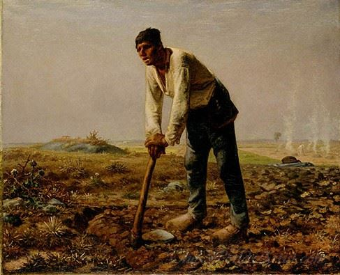 Man With A Hoe