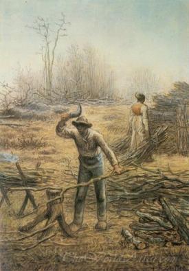 Bûcheron Préparant Des Fagots  (The Woodcutter Preparing Bundles)