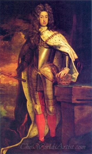 Portrait Of The Young Holy Roman Emperor Charles Vi