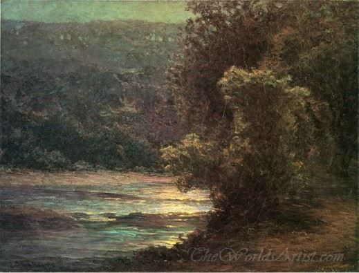 Moonlight On The Whitewater