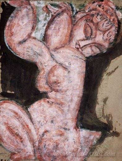 Nude Caryatid