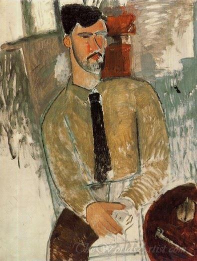 Portrait Of Henri Laurens